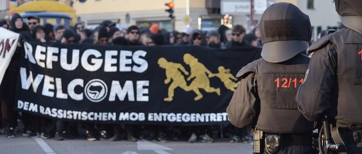 Antirassistische Demo in Freital, Juli 2015. (Foto: Caruso Pinguin/flickr.com/CC BY-NC 2.0)