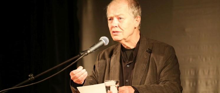 Der Dichter Volker Braun (Foto: Gabriele Senft)