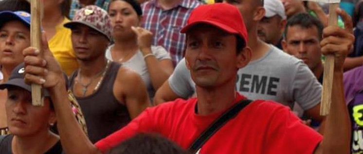 Demonstration von Bauern im November dieses Jahres (Foto: Corriente Revolucionaria Bolívar y Zamora (CRBZ))