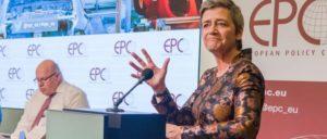 Peter Altmeier und Margrethe Vestager bei einer Industrietagung im April 2019                          (Foto: EPC)