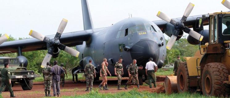 Was die EU unter Verteidigung versteht: EUFOR-Truppen bei ihrem Einsatz im Tschad, 2008 (Foto: Verteidigungsministerium der Tschechischen Republik)