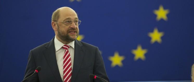 Das Höhere im Blick: Will Martin Schulz nach Berlin? (Foto: EU-Parlament)