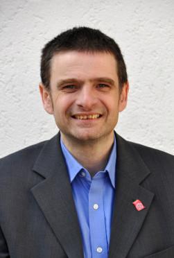 Ulf Immelt ist Organisationssekretär des DGB – Region Mittelhessen