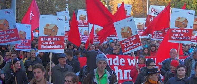 Demonstration in Graz (Foto: KPÖ Steiermark)