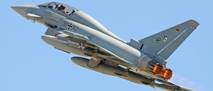 Schon beim Eurofighter dominierte die deutsche Rüstungsindustrie. (Foto: [url=https://www.flickr.com/photos/ajw1970/30975457770/in/photostream/]Alan Wilson[/url])