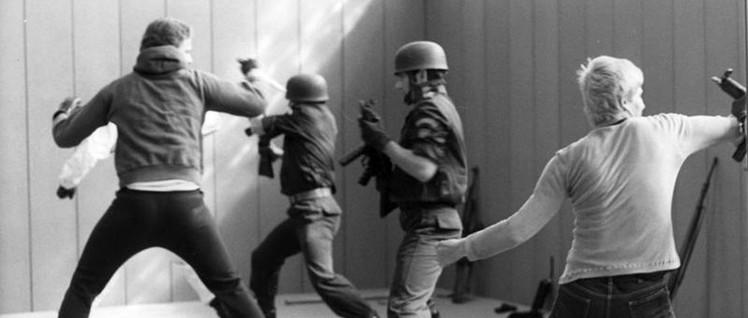 Die GSG9 in ihren Anfängen: Ausbildung 1978 (Foto: [url=https://de.wikipedia.org/wiki/GSG_9_der_Bundespolizei#/media/Datei:Bundesarchiv_B_145_Bild-F054220-0024,_Bundesgrenzschutz,_GSG_9.jpg]Bundesarchiv / Wikimedia Commons[/url])