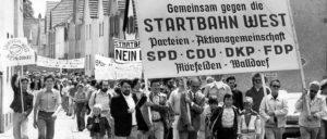 Aus Klasseninteresse beteiligte sich die DKP schon in den 70er-Jahren an Umweltschutzaktionen. (Foto: DKP Mörfelden)