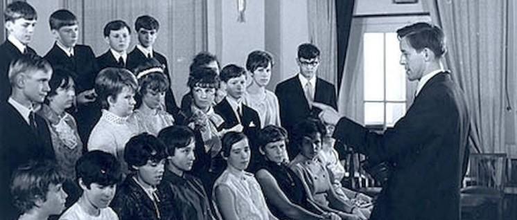 Ein Klassenfoto aus den 60er-Jahren.  (Foto: Junge)