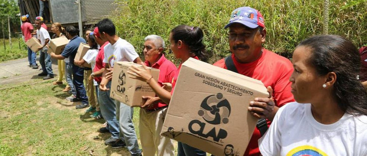 Die venezolanische Regierung verkauft Lebensmittel zu subventionierten Preisen. (Foto: Alba Ciudad 96.3 FM)