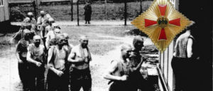 Sowas kommt von sowas: Zwangsarbeiter ausgebeutet, als Unternehmer in der Bundesrepublik erfolgreich– Albert Reimann bekam das Bundesverdienstkreuz mit Stern umgehängt. (Foto: Bundesarchiv, Bild 183-W0724-310 / CC-BY-SA 3.0 [Montage: UZ])