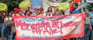 Pflegeaktionstag in Düsseldorf am 20.6.2018 (Foto: Peter Köster)
