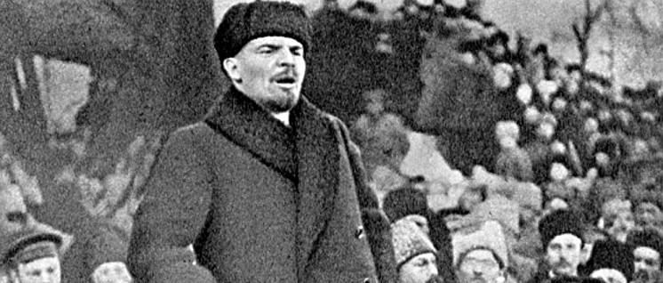 Lenin, 1919 (Foto: Foto: Grigori Petrowitsch Goldstein/wikimedia.org/public domain)