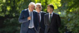 Selenskyj und Steinmeier bei den Gesprächen                          (Foto: The Presidential Office of Ukraine)