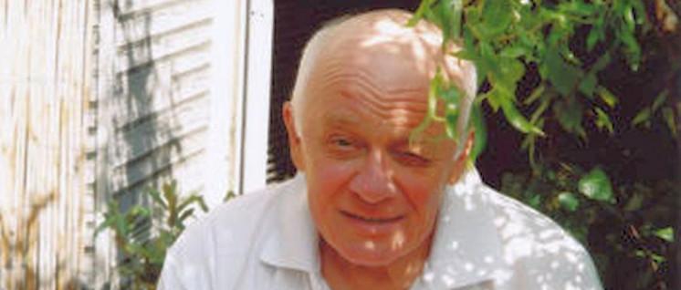Dieter Süverkrüp. Der Meister in seinem Garten (Foto: privat)