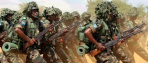 Von Africom ausgebildete kongolesische Soldaten (Foto: U.S. Air Force)