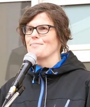 Kantika Manitzke kandidiert auf Platz 14.