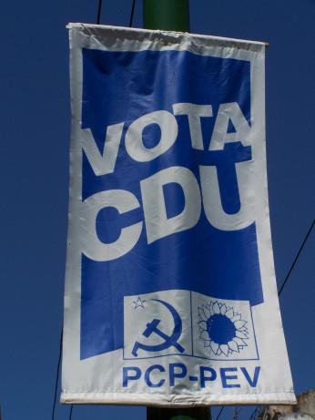 Die PCP tritt bei Wahlen im Bündnis mit den Grünen unter dem Kürzel CDU an.