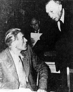 Max Reimann und Konrad Adenauer