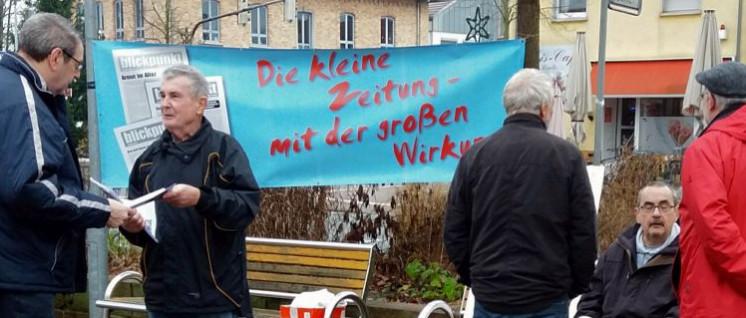 Öffentlichkeitsarbeit ist wichtig. Wer wieder eine Klein-Zeitung machen will, dem kann man helfen. Anfragen an info@dkp-mw.de