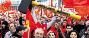 Proteste gegen die Bolkestein-Richtlinie 2006 (Foto: IG BAU/ Andreas Schölzel)