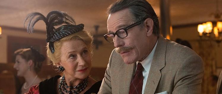 Hedda Hopper (Helen Mirren) klatscht Trumbo (Bryan Cranston) nieder. (Foto: Paramount)