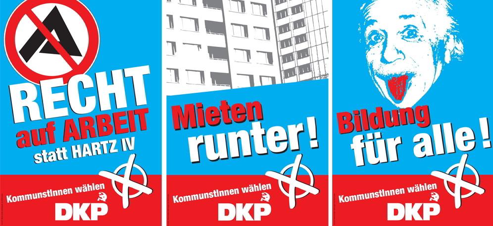 DKP-Plakate NRW