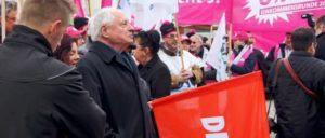 """Weder Spitzenkandidat noch Programm der Partei """"Die Linke"""" boten eine überzeugende Alternative. (Foto: Die Linke)"""