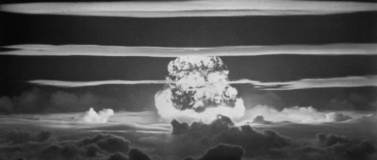 US-Atombombentest über dem Bikini-Atoll, 1956 (Foto: United States Department of Energy)