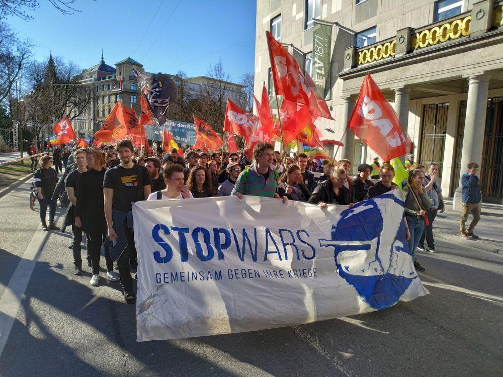 Der Jugendblock gegen die NATO-Sicherheitskonferenz