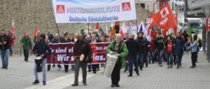 Mai-Demo in Siegen (Foto: Tom Brenner)