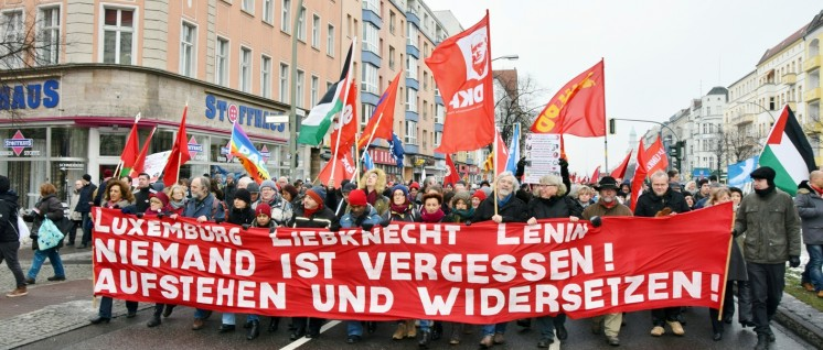 Luxemburg-Liebknecht-Demonstration 2016 (Foto: Uwe Hiksch)