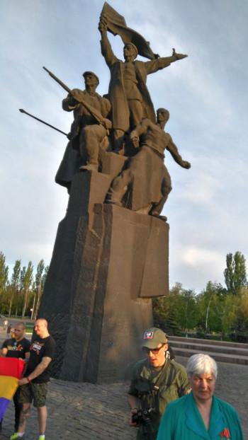 Denkmal für die Revolutionäre von 1905 in Gorlowka