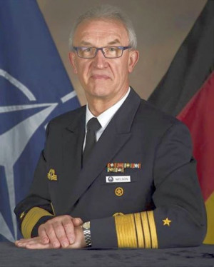 Admiral Manfred Nielson, Bundesmarine, Deputy Supreme Allied Commander Transformation, NATO