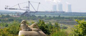 Sieht so der Strukturwandel aus? Braunkohlentagebau bei Leipzig.