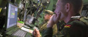 Der Soldat, der am Laptop tötet, ist keine Zukunftsphanatasie mehr. (Foto: Bundeswehr/Jane Schmid)