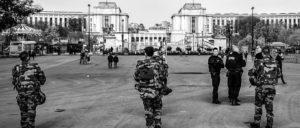 Polizei und Militär in Paris nach dem Terroranschlag (Foto: Guillermo Alonso/flickr.com/CC BY-SA 2.0)