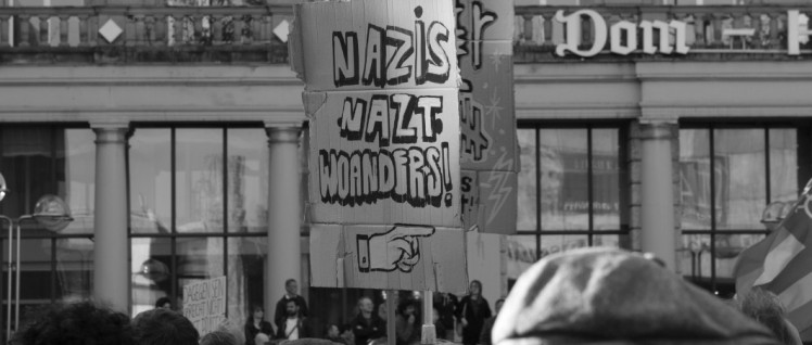 Anti-Nazi-Demo in Köln, 2. November 2014 (Foto: redpicture/ flickr. com)