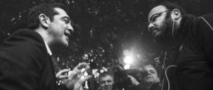 Alexis Tsipras kann auch ohne Leibwächter durch die Straßen gehen– hier im Mai in Chania, Kreta. Umfragen zeigen nach wie vor große Unterstützung für Syriza. (Foto: SpaceShoe/flickr.com/CC BY 2.0)