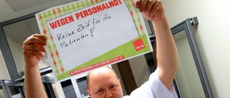 Bundesweit ließen sich Beschäftigte fotografieren, um die Bewegung für Entlastung  zu stärken (Foto: ver.di)