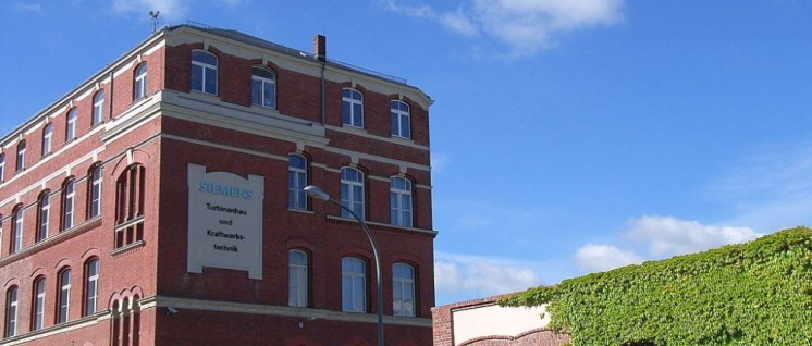 Siemens-Werk in Leipzig (Foto: [url=https://de.wikipedia.org/wiki/S%C3%BCdstadt_(G%C3%B6rlitz)#/media/File:Siemens_g%C3%B6rlitz.JPG]Südstädter/Wikimedia Commons[/url])