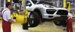 Automobilproduktion bei Porsche in Leipzig (Foto: Porsche)