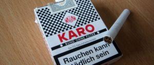 Nichts als heiße Luft (Foto: [url=https://de.wikipedia.org/wiki/Karo_(Zigarettenmarke)#/media/File:Zigarettenschachtel_Karo_mit_Zigarette.jpg]Conrad Nutscha[/url])