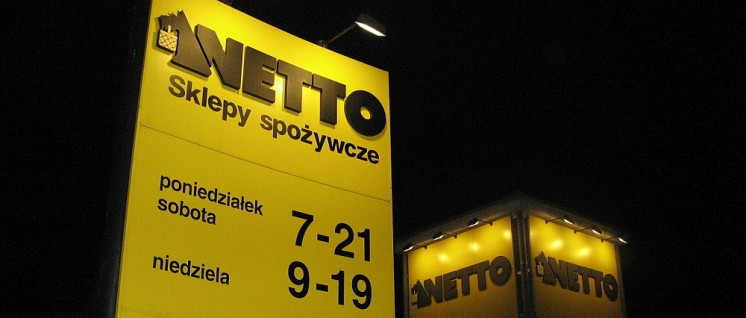 Netto Supermarkt im polnischen Bydgoszcz (Foto: LION_wikimedia_CC BY-SA 3.0)