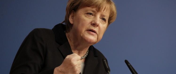 Angela Merkel will noch etwas leisten– der BDI-Präsident dankt. (Foto: CDU)