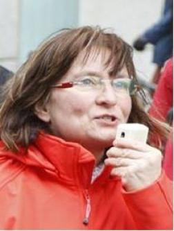 Kati Ziemer, Betriebsrätin bei der CFM