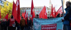 Stopp der NATO-Manöver in Nord- und Ostsee– Für eine Ostsee des Friedens! (Foto: Ulf Stephan / r-mediabase.eu)