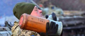 Ukrainischer Soldat bei einer Panzerübung nah der Donezker Volksrepublik (Foto: Ministry of Defense of Ukraine)