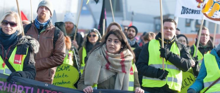 Starke Gewerkschaften braucht es nicht nur für Tarifkämpfe (Foto: Renate Kossmann)