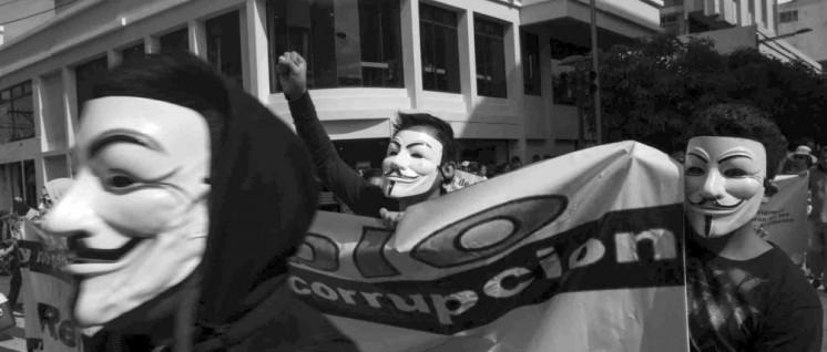 Die Massenbewegung konnte einen korrupten Präsidenten stürzen – aber um wirkliche Veränderungen durchzusetzen, blieb sie zu diffus: Demonstration in Guatemala im Mai. (Foto: Eric Walter/wikimedia.org/CC BY-SA 4.0)
