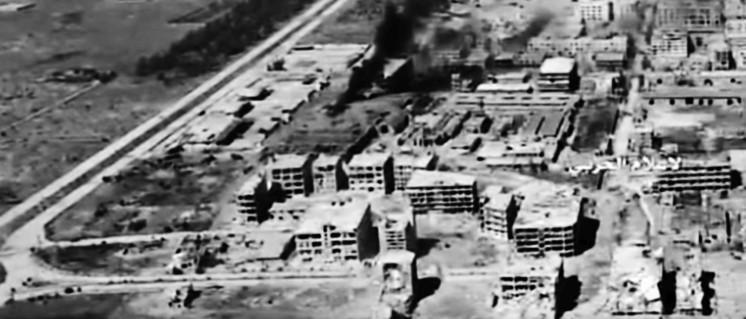 Trümmerlandschaft in Aleppo (Foto: Syrian Arab News Agency/Screenshot)